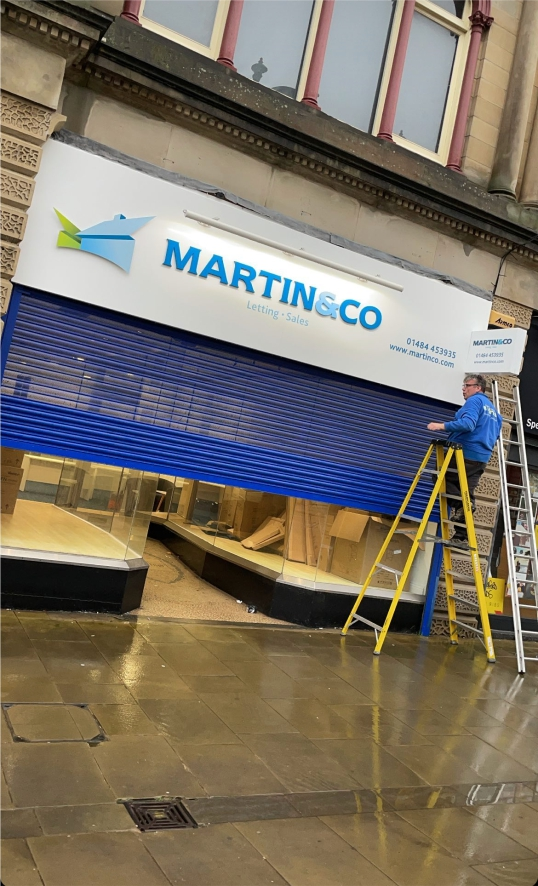 Martin and Co New shop Huddersfield