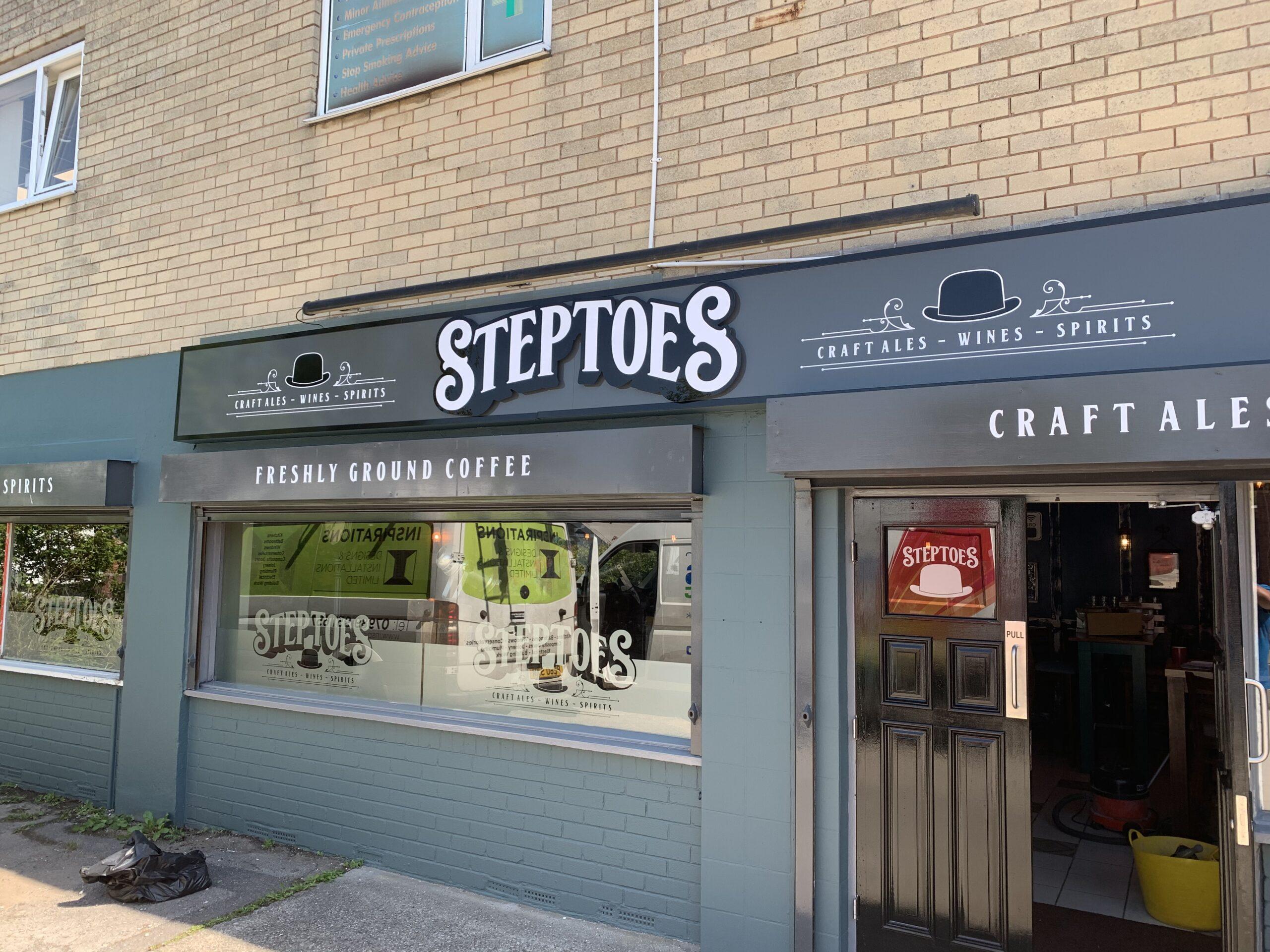 Steptoes Signage Sheffield