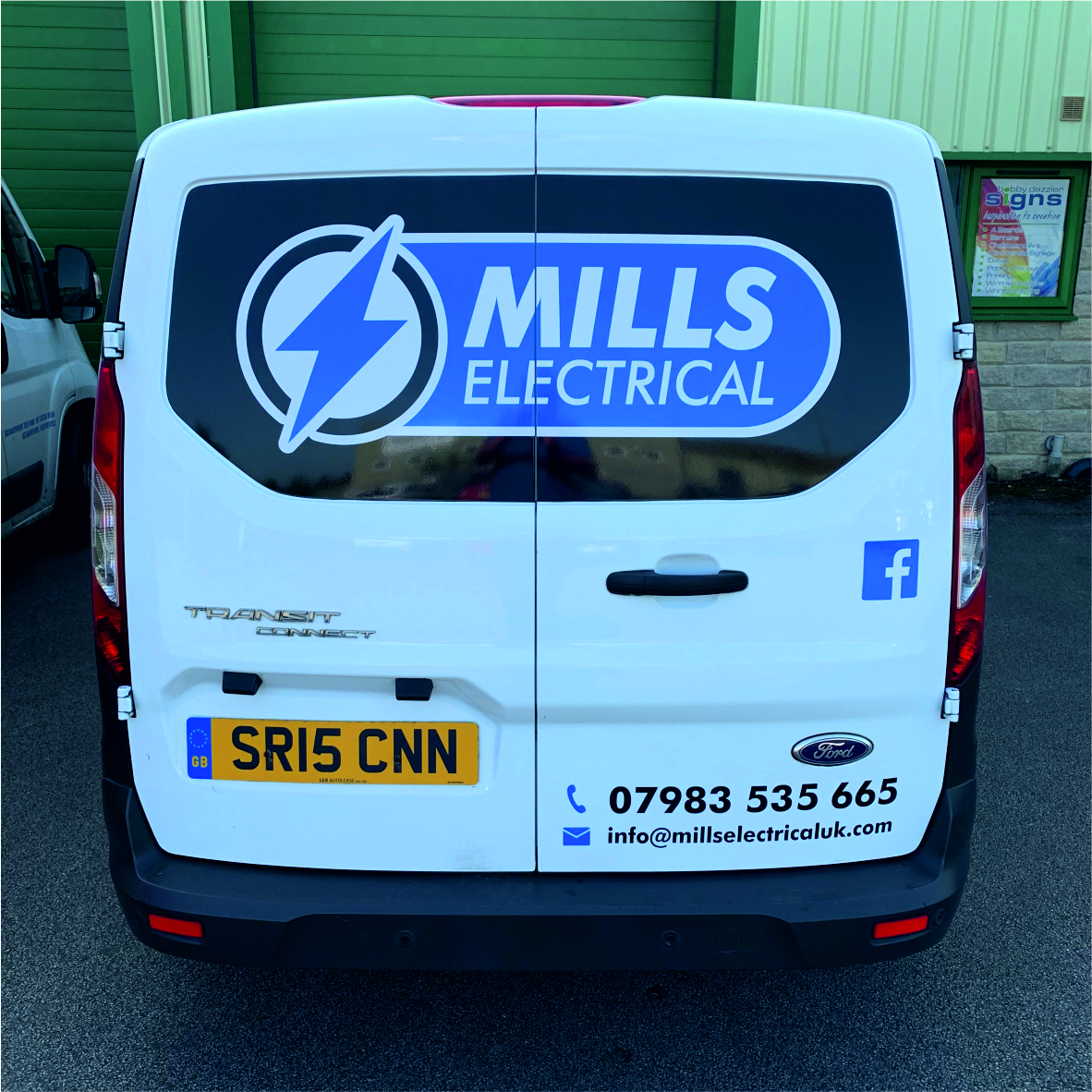 Mill Electrical Vehicle graphics livery 2